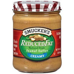SMUKER'S REDUCED FATCREAMY PEANUT BUTTER