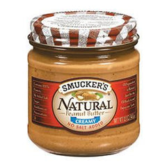 SMUCKER'S NO SALT ADDED CREAMY PEANUT BUTTER