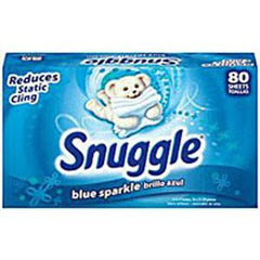 SNUGGLE BLUE SPARKLE LAUNDRY SHEETS