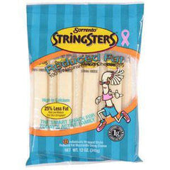 SORRENTO STRINGSTER REDUCE FAT MOZZARELLA CHEESE