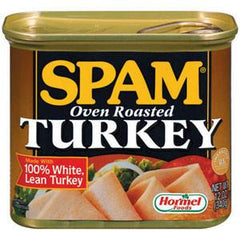 SPAM OVENROASTED TURKEY