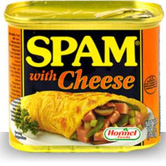 HORMEL SPAM WITH CHEESE