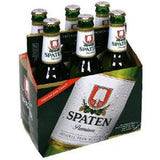 SPATEN PREMIUM  LAGER BEER - 6 PACK BOTTLE