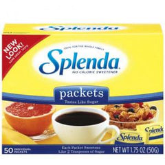 SPLENDA NO CALORIE SWEETENER 50 CT