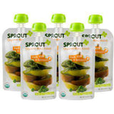 SPROUT ORGANIC PEAR KIWI & SPINACH BABY FOOD 6 MONTHS & UP