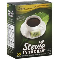 STEVIA EXTRACT 100% NATURAL ZERO CALORIE SWEETENER IN THE RAW