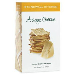 STONEWALL KITCHEN ASIAGO CHEESE CRACKER