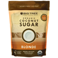 SWEET TREE ORGANIC COCONUT BLONDE PALM SUGAR