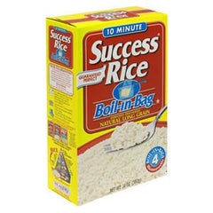 SUCCESS BOIL   IN- BAG WHITE RICE MICROWAVABLE