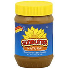 SUNBUTTER NATURAL BUTTERNUT SUNFLOWER