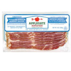 APPLEGATE NATURALS UNCURED REDUCED SODIUM SUNDAY BACON