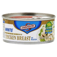 SWANSON WHITE PREMIUM CHUNK CHICKEN BREAST IN WATER