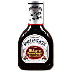SWEET BABY RAY'S HICKORY & BROWN SUGAR BBQ SAUCE