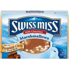 SWISS MISS MILK CHOCOLATE MARSHMALLOWS