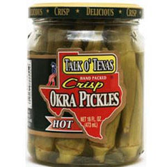 TALK OF TEXAS HOT OKRA PICKLES