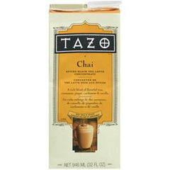 TAZO CHAI SPICED BLACK TEA LATTE CONCENTRATE