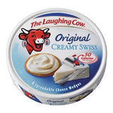 THE LAUGHING COW ORIGINAL CREAMY SWISS CHEESE