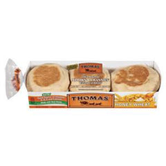 THOMAS HONEY WHEAT ENGLISH MUFFINS