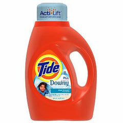 TIDE 2 X ULTRA WITH DOWNY BREEZE LAUNDRY DETERGENT 24 LOADS