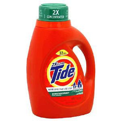 TIDE 2X ULTRA  MOUNTAIN SPRING SCENT DETERGENT - 32 LOADS