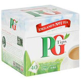 TIPS PYRAMID TEA BAGS 40 CT