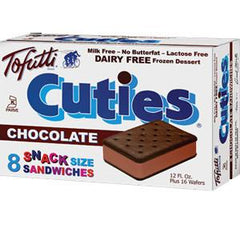 TOFUTTI CHOCOLATE SANDWICHES