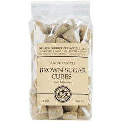 INDIA TREE GOURET SPICES & SPECIALITIES EUROPEAN STYLE BROWN SUGAR CUBES
