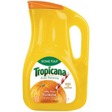 TROPICANA ORANGE HOMESTYLE SOME PULP