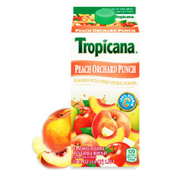 TROPICANA PEACH ORCHARD PUNCH