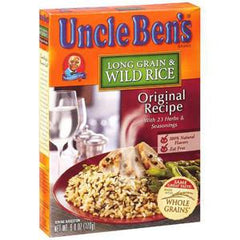 UNCLE BEN'S LONG GRAIN WILD RICE ORIGINAL RECIPE