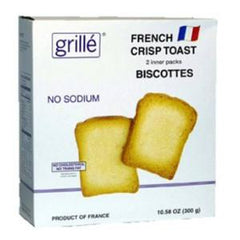 GRILLE SALT FREE BISCOTTES CRACKERS