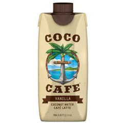 COCO CAFE VANILLA COCONUT WATER - CAFE LATTE