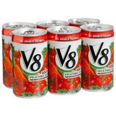 V8 VEGETABLE JUICE 6 PK