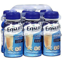 ENSURE NUTRITION SHAKE VANILLA 6 PACK