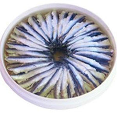 BORELLI MARINATED ANCHOVIES IN SUNFLOWER OIL