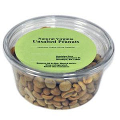 BROOKLYN FARE NATURAL VIRGINIA UNSALTED PEANUTS