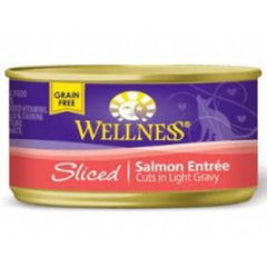 WELLNESS SLICED SALMON ENTREE