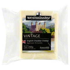 WESTMINSTER VINTAGE ENGLISH CHEDDAR CHEESE