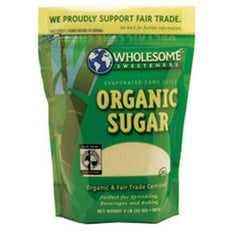 WHOLESOME SWEETENERS ORGANIC SUGAR