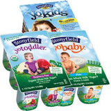 STONYFIELD YOTODDLE STRAWBERRY BANANA - ORGANIC WHOLE MILK YOGURT