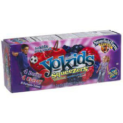 YOKIDS SQUEEZERS STRAWBERRY YOGURT