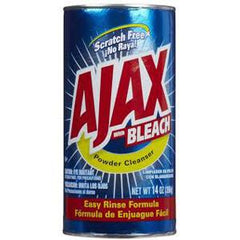 AJAX WITH BLEACH POWDER CLEANSER