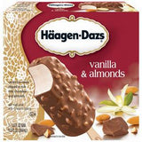 HAAGEN DAZS VANILLA DARK CHOCOLATE ICE CREAM BARS