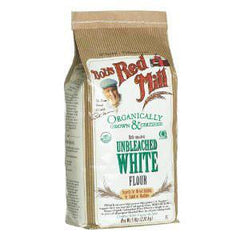 BOB'S RED MILL ORGANIC UNBLEACHED WHITE FLOUR