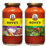 BOVE'S ALL NATURAL PASTA SAUCE - THREE CHEESE & TOMATO