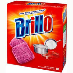 BRILLO RED SOAP PADS