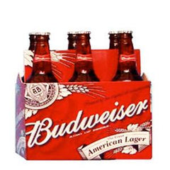 BUDWEISER KING OF BOOTLED BEER