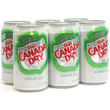 CANADA DRY DIET GINGER ALE - 12 FLOZ EACH CAN