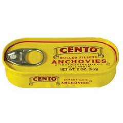 CENTO ROLLED FILLET ANCHOVIES