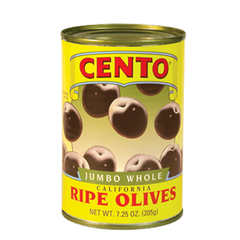 CENTO JUMBO WHOLE RIPE OLIVES